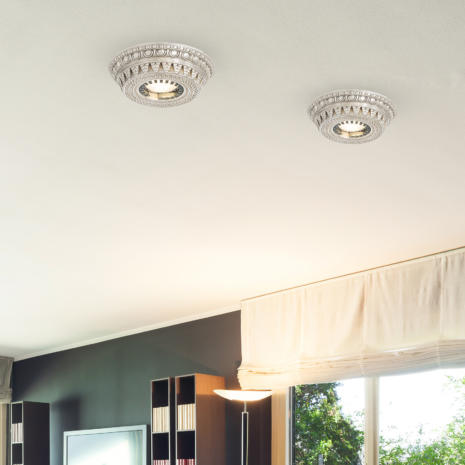 FARETTO in fusione di ottone disponibile in 10 diverse finiture: Spot Lights 472/F