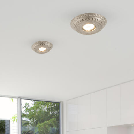 FARETTO in fusione di ottone disponibile in 10 diverse finiture: Spot Lights 473/F