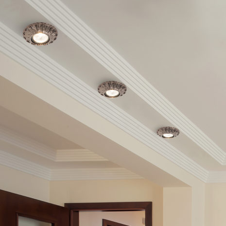 FARETTO in fusione di ottone disponibile in 10 diverse finiture: Spot Lights 479/F