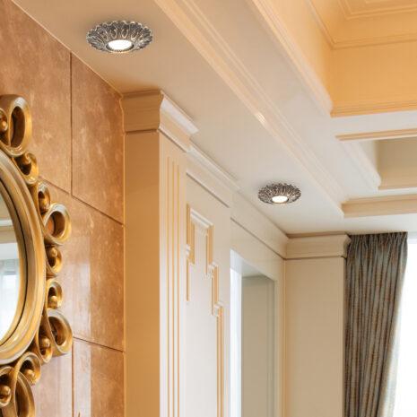 FARETTO in fusione di ottone disponibile in 10 diverse finiture: Spot Lights 480/F