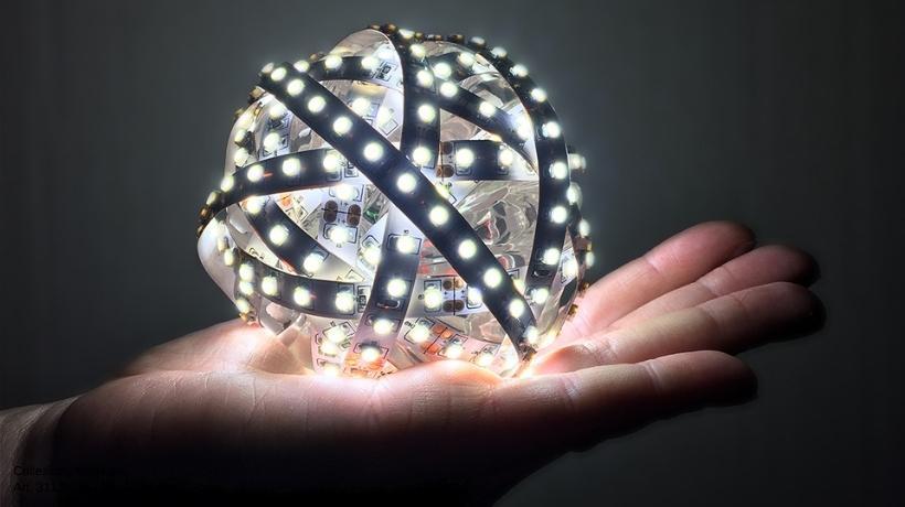 Gomitolo di luci a LED - Patrizia Volpato