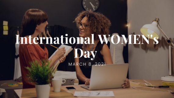 International women's day 2021 - blog cover