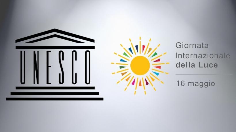 Loghi Unesco e GIornata internazionale della luce