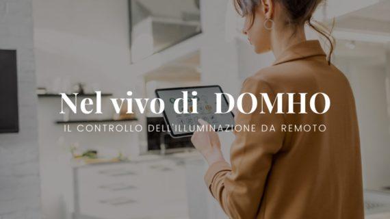 Illuminazione controllata da remoto grazie al progetto Domho