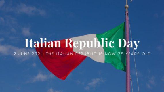 Italian Flag - Italian Republic Day
