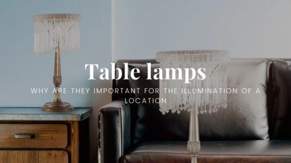 Table lamps - Blog Patrizia Volpato