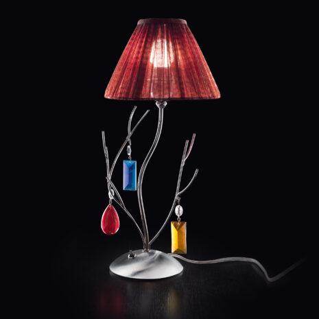 Bon Ton 390-LP : Lampada da tavolo moderna con bracci in ferro