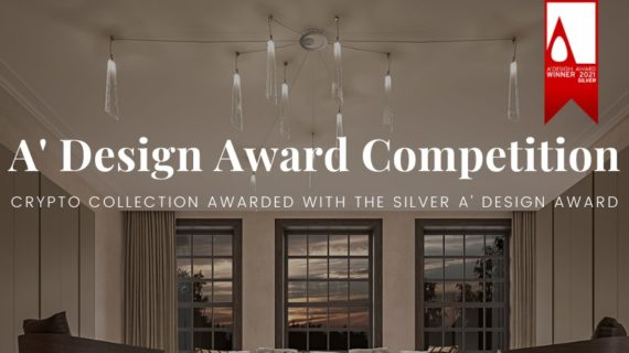 Crypto Collection awarded with the Silver A' Design Award