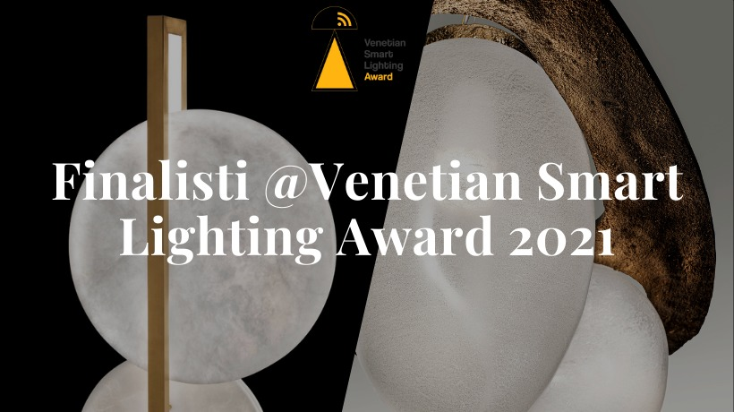 Patrizia Volpato finalista al concorso Venetian Smart Lighting Award 2021